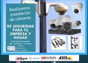 Instalación y configuración de cámaras de segurida