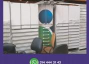 Gondolas, exhibidores, vitrinas usadas