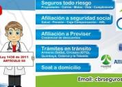 Afiliacion a seguridad social a domicilio