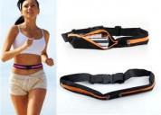 Cinturón deportivo riñonera multifunción doble unisex