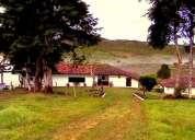 Se vende hacienda en valle del cauca, contactarse.