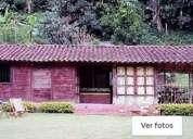 Excelente casa campestre cabana sin accesovehiculo