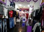 Venta de tienda de ropa