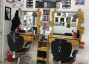 Se vende negocio barberia.