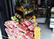 Excelente negocio tienda fruteria acreditada