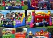 inflables saltarines dummies  trampolines