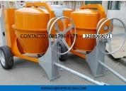 mezcladoras para concreto tipo trompo