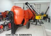 Mezcladora para concreto 2b diesel 10hp
