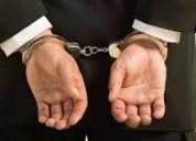 En problemas penales abogados lo asesoran sin cost