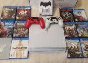 Nuevo sony ps4 1tb pro console con 8 juegos $150us