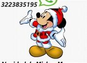 Adornos navideños de mickey mouse