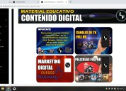 Cursos de marketing digital, peliculas en full hd.