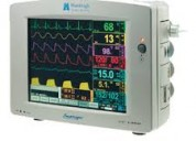 Arreglo monitores signos vitales y ventiladores