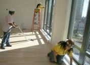 Servicios de aseo y limpieza post obra para  casas