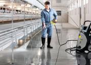 Servicio de  aseo y limpieza para bodegas e ind.