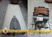 Servicio tecnico de calentadores a gas 3219493535