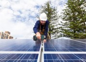 Mantenimiento a paneles solares