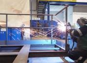 Mantenimiento  a estructuras industriales