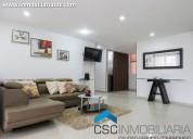 Código ap43(poblado) apartamento amoblado en alqui