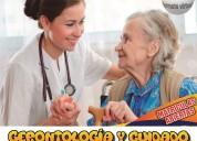 Estudia gerontologia y cuidado del adulto