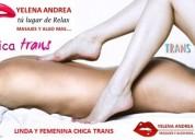 Disfruta de un excitante masaje erotico trans.