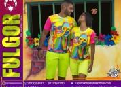 Camisetas carnaval de barranquilla