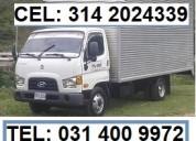 Transportes de mudanzas locales- nacionales