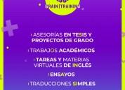 Traducciones simples y asesorÍa en tesis de grado