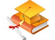 Clases, cursos, asesorÍa universitaria