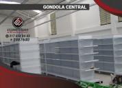 Venta de estanterias para supermercados