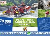 Santander colombia pasadías turismo de aventura