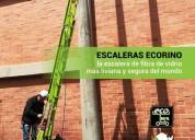 Escalera extendible con nivelación lat y vert