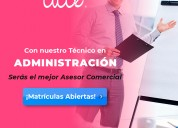 Programas técnicos laboral en administración