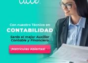 Programas técnicos laboral en contabilidad