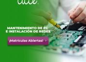 Programa técnico laboral en mantenimiento de pc