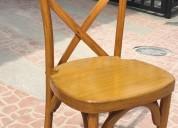 Alquiler de silla de toda clase para tus eventos