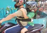 Chalecos de seguridad infantil para moto