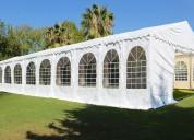 ¡servicio completo de carpas y techos! eventos