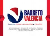 Contador publico asesorias contables