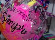Globos burbuja personalizados