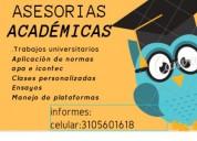 Asesorías académicas y refuerzo escolar