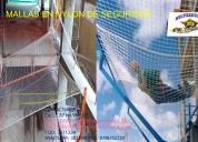 Malla de seguridad para construcciÓn