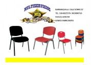 Sillas y mesas escolares