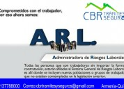 AfiliaciÓn solo a arl 2 (administradora de riesgo