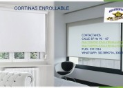 Blackout y cortinas enrollables