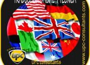 Traductores oficiales a nivel nacional  8 idiomas