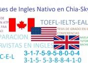 Clases cursos de ingles en chia y via skype
