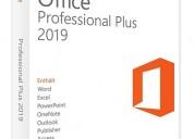 Office profesional plus 2019-1 pc_envio online