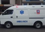 Ambulancias y oxigeno 24 horas urgencas