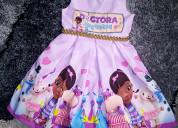 Vestidos de fiesta doctora juguetes para niñas